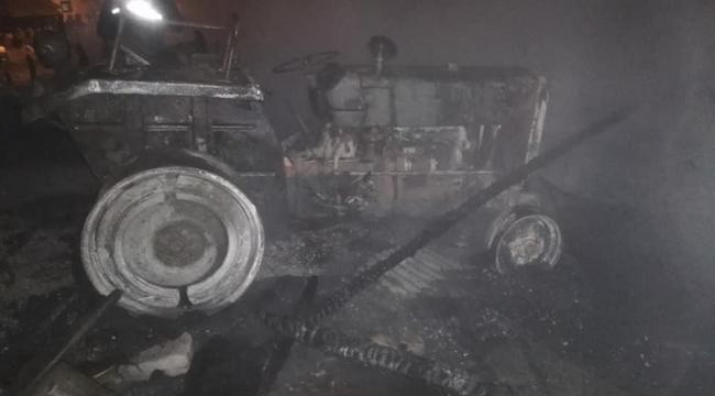Gece yarısı çıkan yangın korkuttu!
