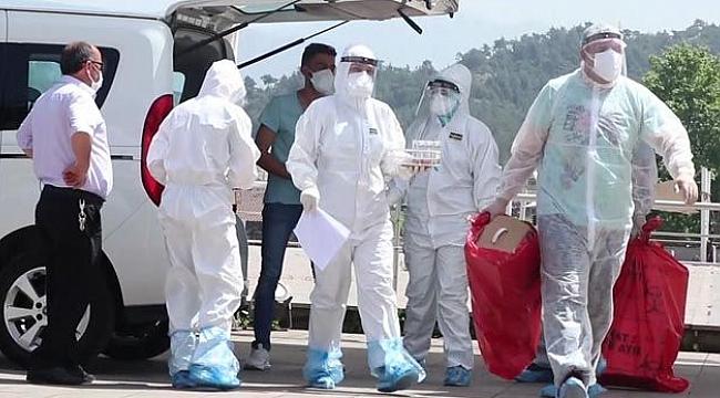 Korona virüs test sonuçları belli oldu