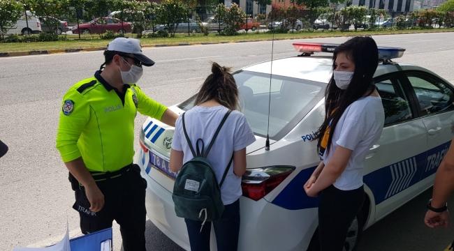 Koronavirüs tedbirlerine uymayan şoför ve yolculara para cezası