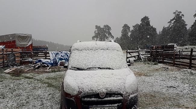 Mayısta ikinci kar yağışı