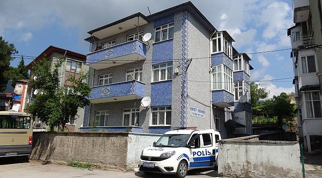 Karabük'te bir apartman karantinaya alındı!