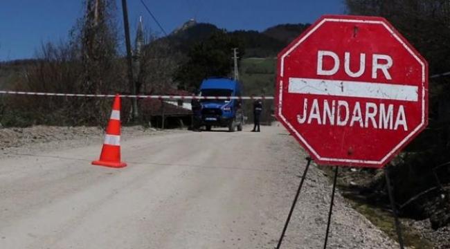 Karabük'te 1 mahalle karantinaya alındı