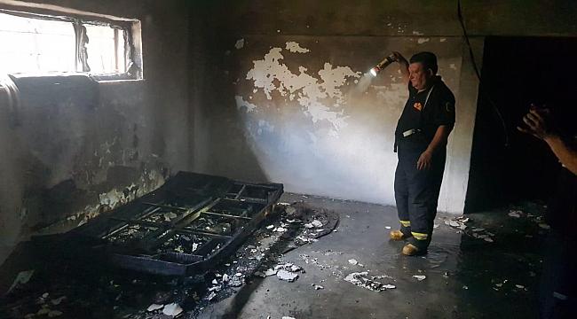 Karabük'te ev yangını: 7 kişi dumandan etkilendi