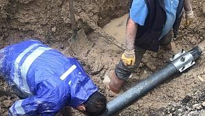 Safranbolu'da Su ve Kanalizasyon çalışmaları yoğun çalışmasına devam ediyor.