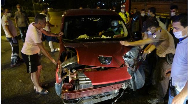 İki ayrı kaza: 1 ölü 4 yaralı