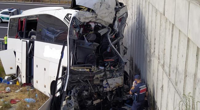 Karabük otobüsü İstanbul yolunda kaza yaptı: 5 Ölü, 25 Yaralı