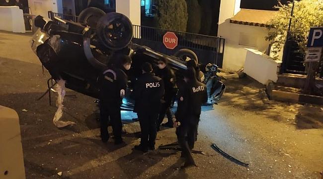 Jandarma Komutanlığı Önünde Kaza:1 Yaralı