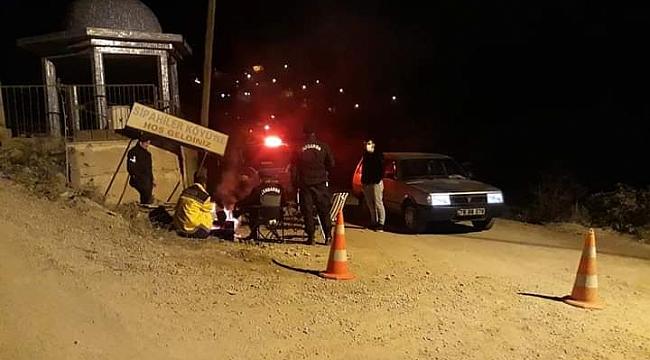 Karabük'te bir mahalle karantinaya alındı