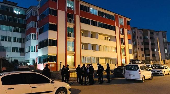 Karabük'te bir apartmana karantina kararı