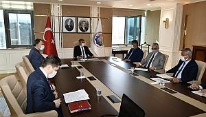 KBÜ Yüz Yüze Eğitim Değerlendirme Toplantısı Vali Gürel Başkanlığında Yapıldı