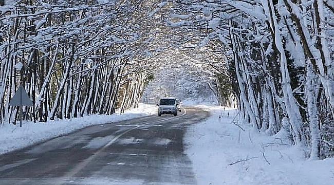 Sıcaklıklar düşüyor, Karabük'e kar geliyor