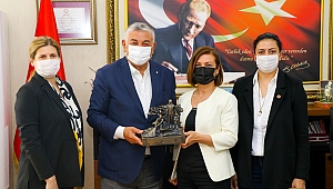 Sarıyer Belediye Başkanı Şükrü Genç, Başkan Elif Köse'yi Ziyaret Etti