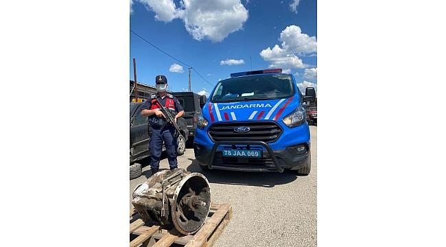 Karabük'te hırsızlık zanlısı 2 kişi yakalandı