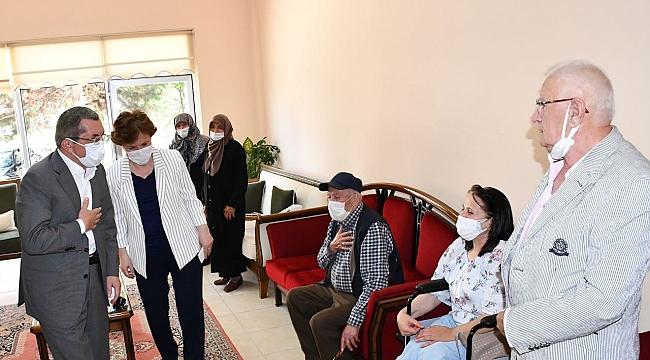 Vergili'den Yaşlı Bakım ve Dinlenme Merkezi'ndeki Yaşlılara Ziyaret