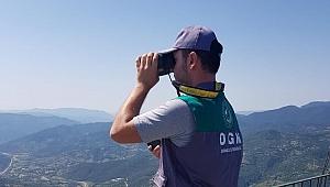 Karabük'te ormanlık alanlar 7/24 gözetleniyor