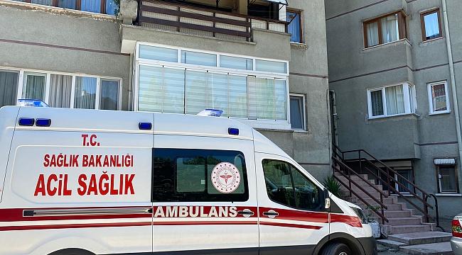 Apartman merdivenlerinde ölü bulundu
