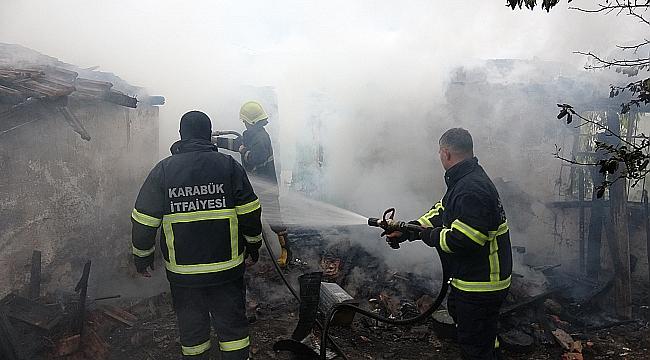 Karabük'te yangın... Dumanlar yükseldi
